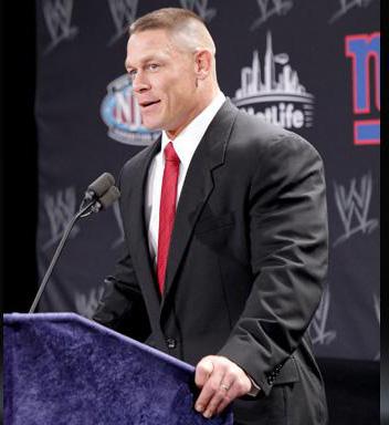 wwe2013摔跤狂热大赛新闻发布会的图片:   2013年摔角狂