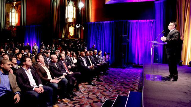 WWE2013摔角狂热大赛29新闻发布会现场 高清图片 37高清图片
