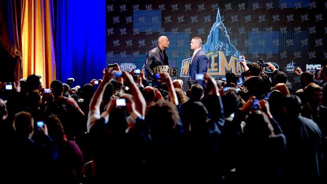 WWE2013摔角狂热大赛29新闻发布会现场 高清图片 8高清图片