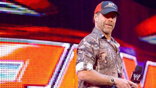 HBK或将出现WWE2014摔跤狂热大赛30高清图片