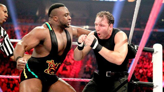 大 E vs 迪安 安布罗斯 WWE2013地狱牢笼大赛 12
