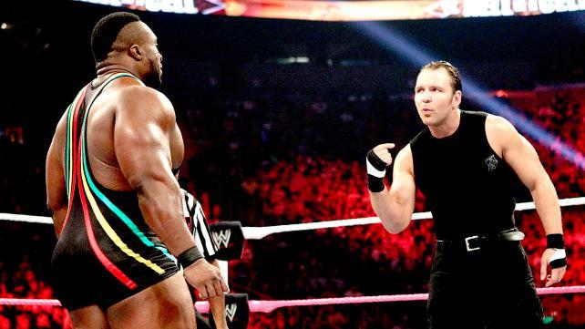 大 E vs 迪安 安布罗斯 WWE2013地狱牢笼大赛 5