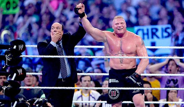 送葬者vs布洛克 WWE摔角狂热30 让世界感到遗憾的比赛