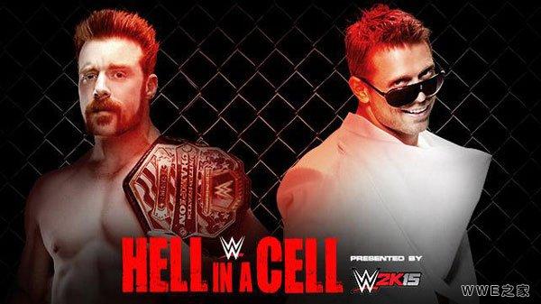 john cenavs大秀哥_WWE2014年10月27日《地狱牢笼-Hell in a Cell》_wwe之家