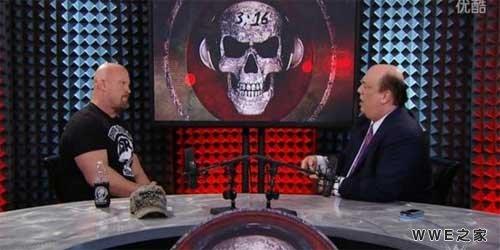 wwe史蒂夫奥斯汀vs_奥斯丁采访海曼 奥斯丁vs布洛克《WWE2016摔跤狂热》?_wwe之家